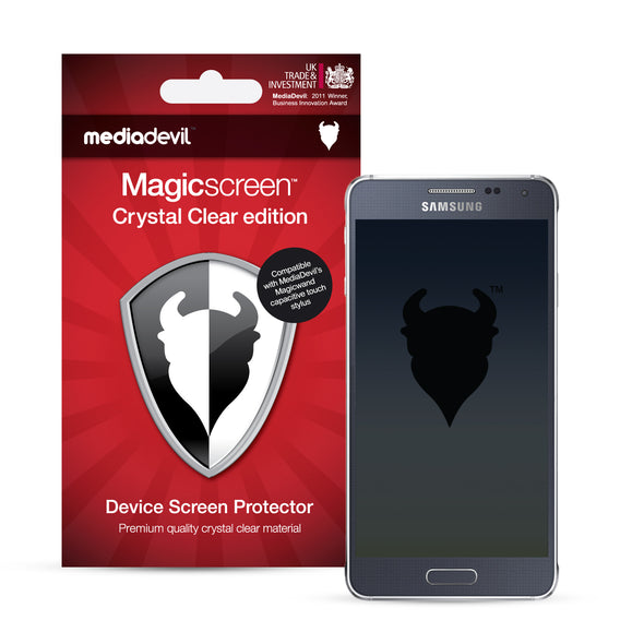 Samsung Galaxy Alpha Screen Protector (Clear) | Magicscreen