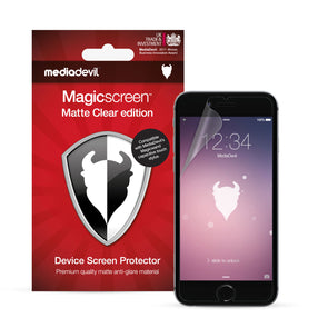 Apple iPhone 6 / 6s Matte Clear (Anti-Glare) Screen Protector | Magicscreen