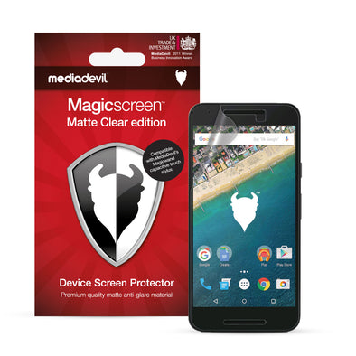 Google Nexus 5X Matte Clear (Anti-Glare) Screen Protector | Magicscreen