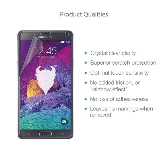 Samsung Galaxy Note 4 Screen Protector (Clear) | Magicscreen