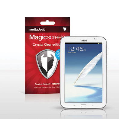 Magicscreen screen protector - Crystal Clear (Invisible) Edition - Samsung Galaxy Note (8.0)