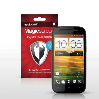 Magicscreen screen protector - Crystal Clear (Invisible) Edition - HTC One SV