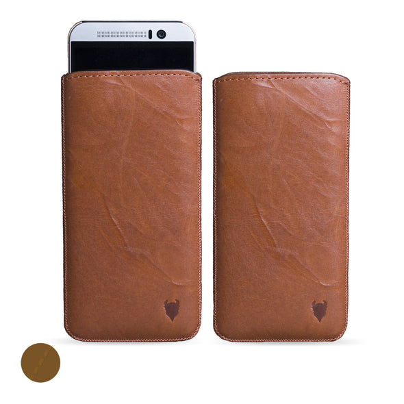 HTC Desire 12 Genuine European Leather Pouch Case | Artisanpouch