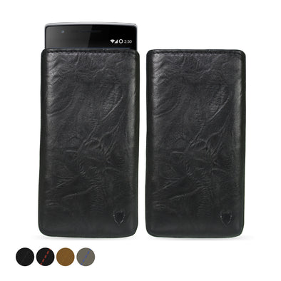 OnePlus One Genuine European Leather Pouch Case | Artisanpouch