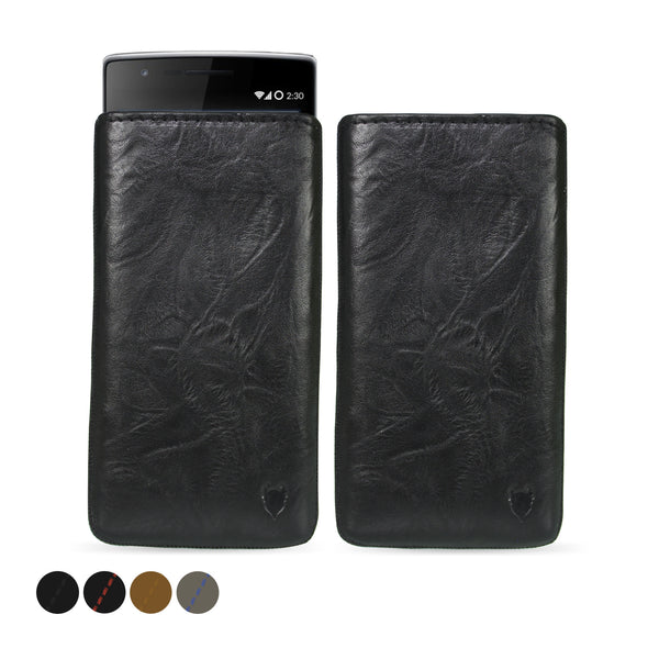 Nokia 6 (2017) Genuine European Leather Pouch Case | Artisanpouch