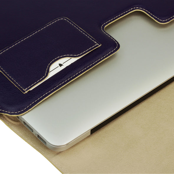 Apple MacBook Pro (Retina Display, 2012 - 2015) and MacBook Air (2010 - 2017) Leather Case | Artisansuit