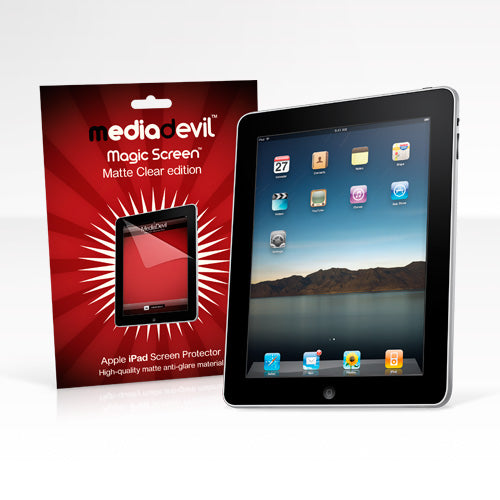 Apple iPad 1 Matte Clear (Anti-Glare) Screen Protector | Magicscreen