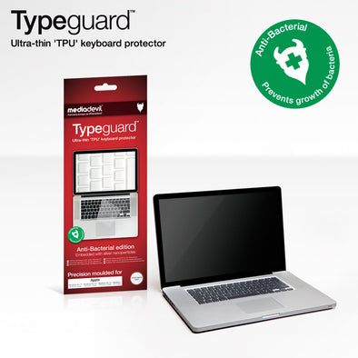Typeguard Keyboard Protector - Anti-bacterial edition: Apple Macbook (2010 model) and Macbook Pro (2010 & 2011 models)