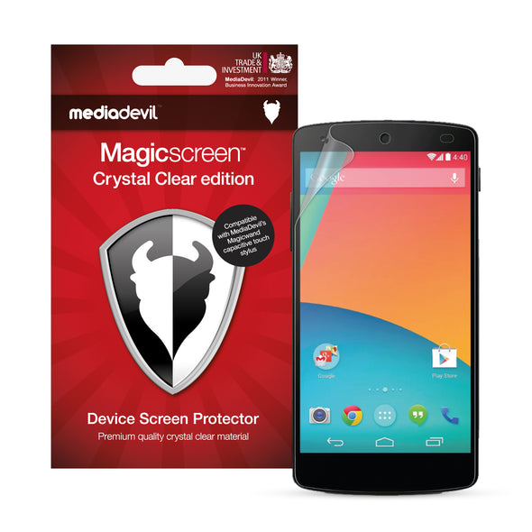 Magicscreen screen protector - Matte Clear (Anti-Glare) Edition - Google Nexus 5 by LG
