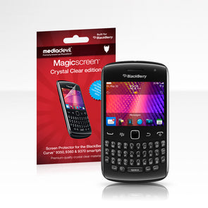 Magicscreen Screen Protector Crystal Clear edition for the BlackBerry Curve 9360