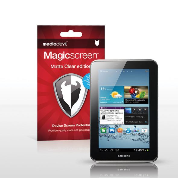 "Magicscreen screen protector - Matte Clear (Anti-Glare) Edition - Samsung Galaxy Tab 2 (7.0"")"