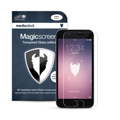 iPhone 6 Plus / 6s Plus Tempered Glass Screen Protector (Clear) | Magicscreen