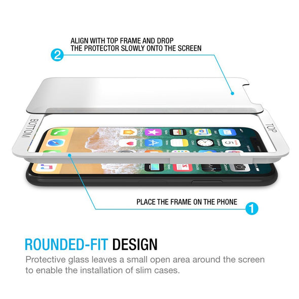 iPhone 12 / 12 Pro Tempered Glass Screen Protector (Clear) | Magicscreen
