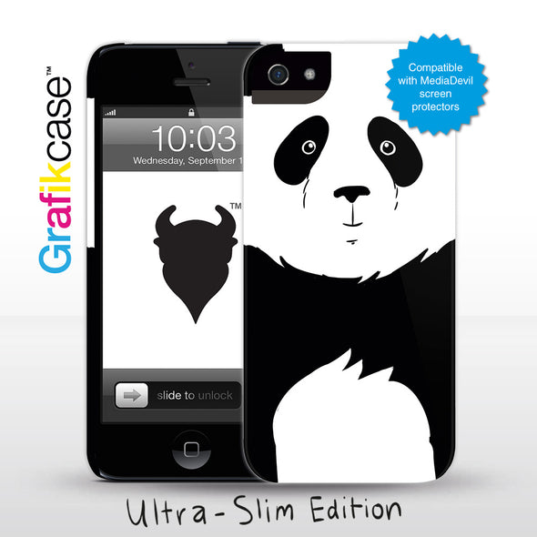 Grafikcase iPhone 5 Ultra-slim case edition: Panda - Glossy