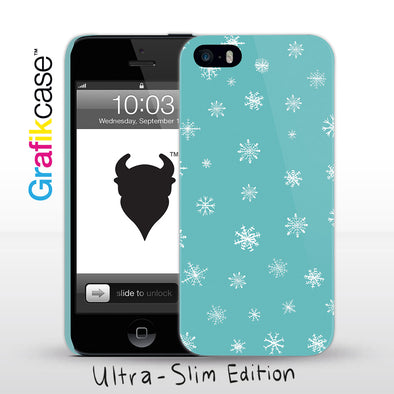 Grafikcase iPhone SE/5/5S case: Snowflakes