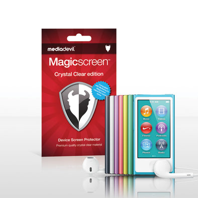 Magicscreen screen protector - Crystal Clear (Invisible) Edition - Apple iPod Nano 7G