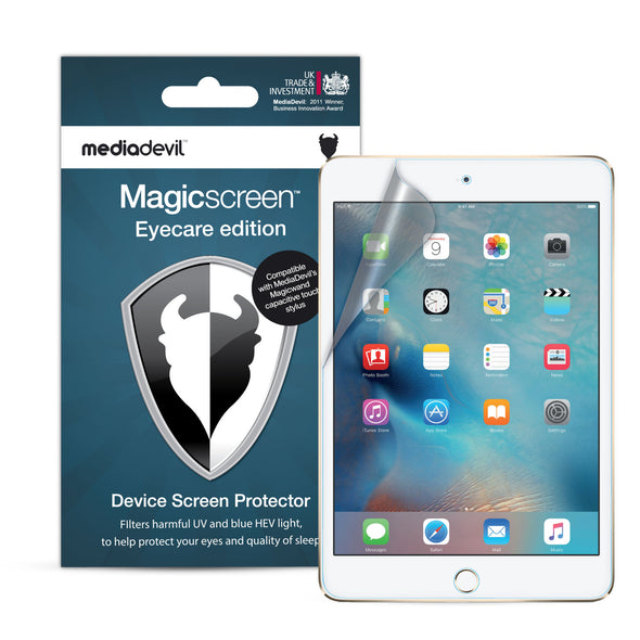 Apple iPad Mini 5 (2019) Anti-Blue Light Screen Protector (Eyecare) | Magicscreen
