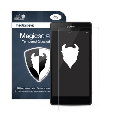 Sony Xperia Z2 Tempered Glass Screen Protector (Clear) | Magicscreen