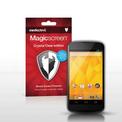 Magicscreen screen protector - Crystal Clear (Invisible) edition - Google Nexus 4 by LG
