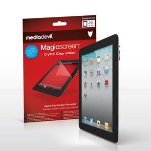 Magicscreen screen protector - Crystal Clear (Invisible) Edition - Apple iPad 2 / iPad 3