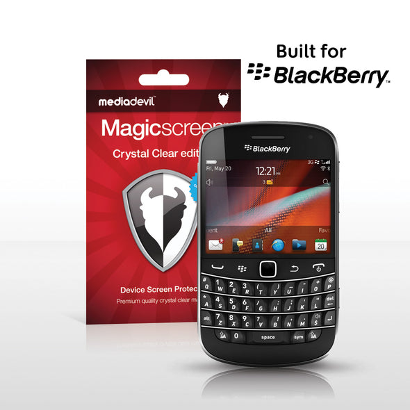 Magicscreen Screen Protector Crystal Clear edition for the BlackBerry Bold 9900 and 9930