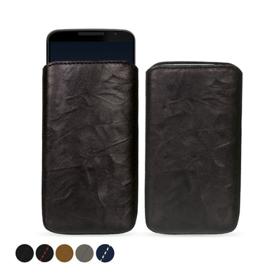 Google Nexus 6 Genuine European Leather Pouch Case | Artisanpouch