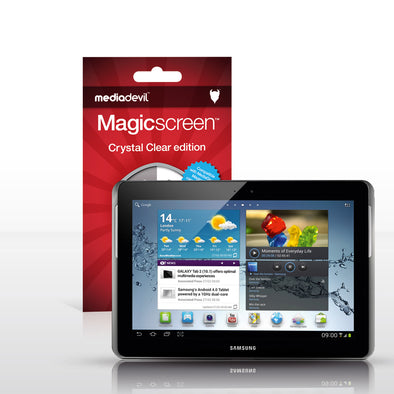 "Magicscreen screen protector - Crystal Clear (Invisible) Edition - Samsung Galaxy Tab 2 (10.1"")"