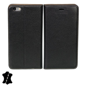 Apple iPhone 6 Plus / 6s Plus Genuine European Leather Notebook Case with Stand | Artisancover (3rd Gen.)