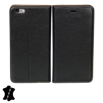 Artisancover (3rd Gen.) genuine European leather case with integrated stand and card holders - Apple iPhone 6 Plus / 6s Plus