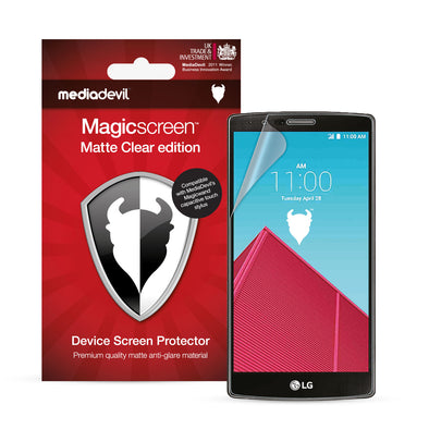 LG G4 Matte Clear (Anti-Glare) Screen Protector | Magicscreen