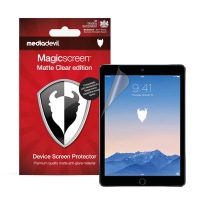 "iPad (2017-2018), iPad Pro (9.7"") & iPad Air 1/2 Screen Protector (Matte, Anti-Glare) 
