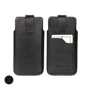Genuine European Leather Pouch Phone Case - Universal Size 2 (S) | Artisanpouch