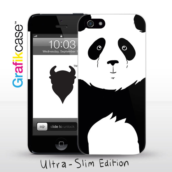 Grafikcase iPhone SE/5/5S case: Panda
