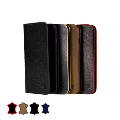 Apple iPhone 6 Plus / 6s Plus Genuine European Leather Notebook Case with Stand | Artisancover (1st Gen.)