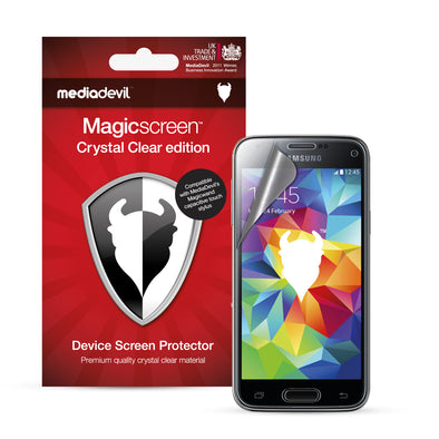 Samsung Galaxy S5 Mini Screen Protector (Clear) | Magicscreen