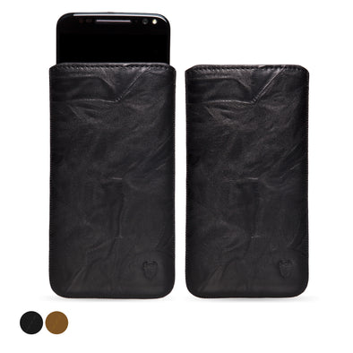 Motorola Moto X Style Genuine European Leather Pouch Case | Artisanpouch