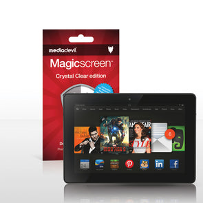 "Amazon Kindle Fire HDX 8.9"" (2013) Screen Protector (Clear) 