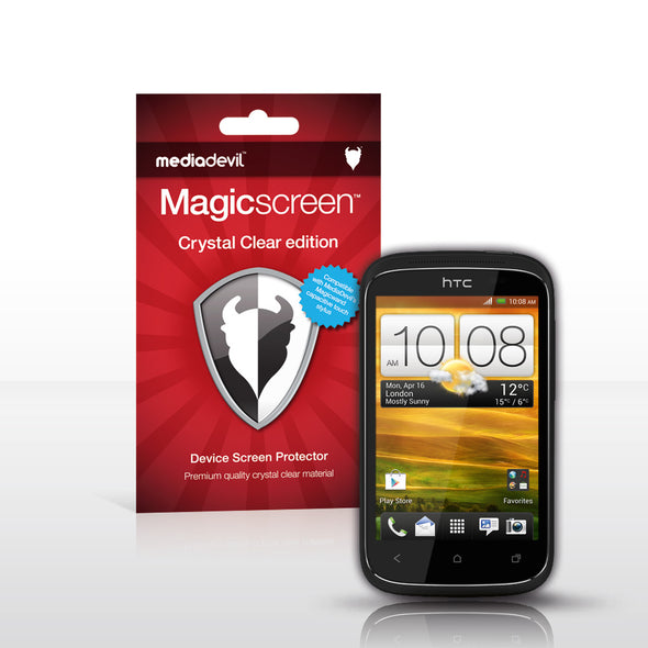 MediaDevil Magicscreen Screen Protectors for the HTC Desire C