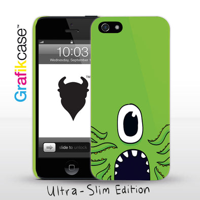 Apple iPhone SE (1st Gen) and iPhone 5/5s Case: Green Monster | Grafikcase