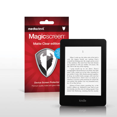 Amazon Kindle Paperwhite Matte Clear (Anti-Glare) Screen Protector | Magicscreen