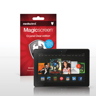 "Amazon Kindle Fire HDX 7"" (2013) Screen Protector (Clear) 