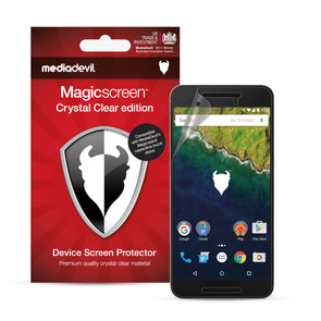 Google Nexus 6P Screen Protector (Clear) | Magicscreen
