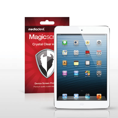 Magicscreen screen protector - Crystal Clear (Invisible) Edition - Apple iPad Mini