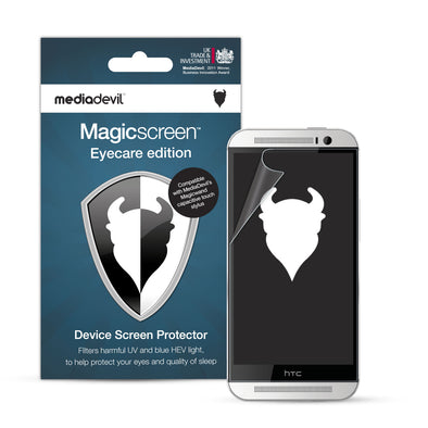 HTC One M8 Anti-Blue Light Screen Protector (Eyecare) | Magicscreen