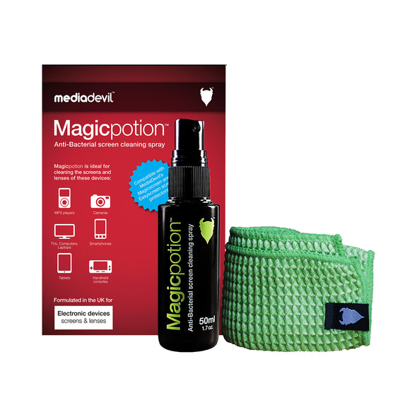 Anti-Bacterial Phone Screen & Lens Cleaning Spray Kit | Magicpotion