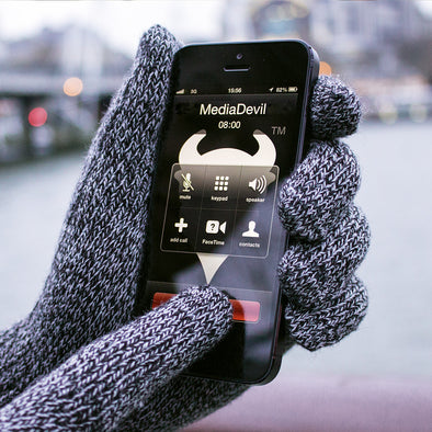 Touchscreen Gloves for Phones and Tablets | Capacitouch