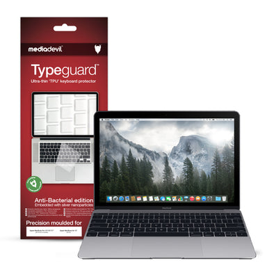"Apple MacBook 12"" (2015-2018) Keyboard Protector (Anti-Bacterial) 