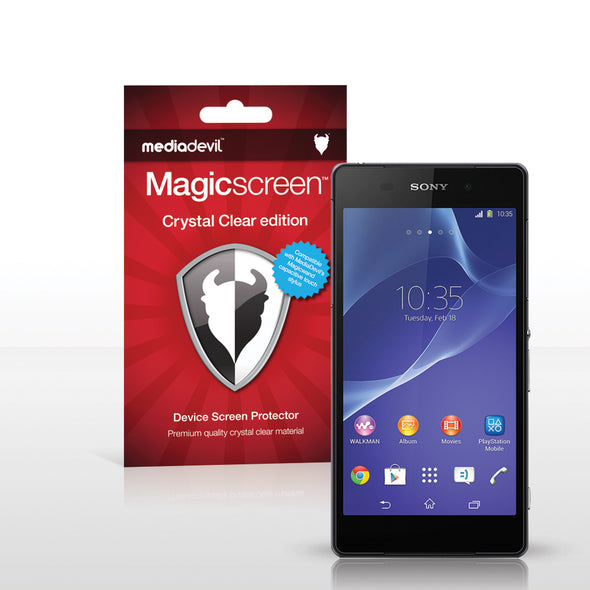 Sony Xperia Z2 Screen Protector (Clear) | Magicscreen