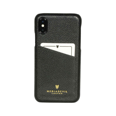 Apple iPhone XR Genuine European Leather Clip-on Case with Cardholder | Artisancase