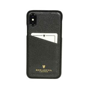 Apple iPhone X / XS Genuine European Leather Clip-on Case with Cardholder | Artisancase
